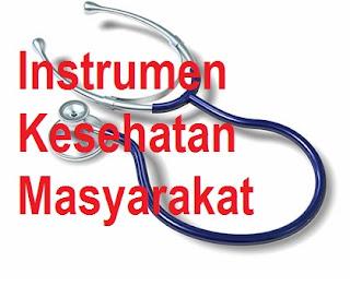 Makalah Instrumen Kesehatan Masyarakat Tentang Pengurangan Beban Penyakit