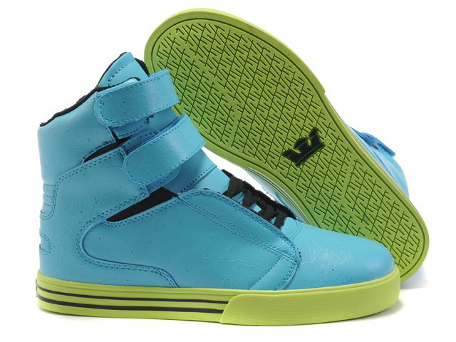 Supra Shoes Blue And White