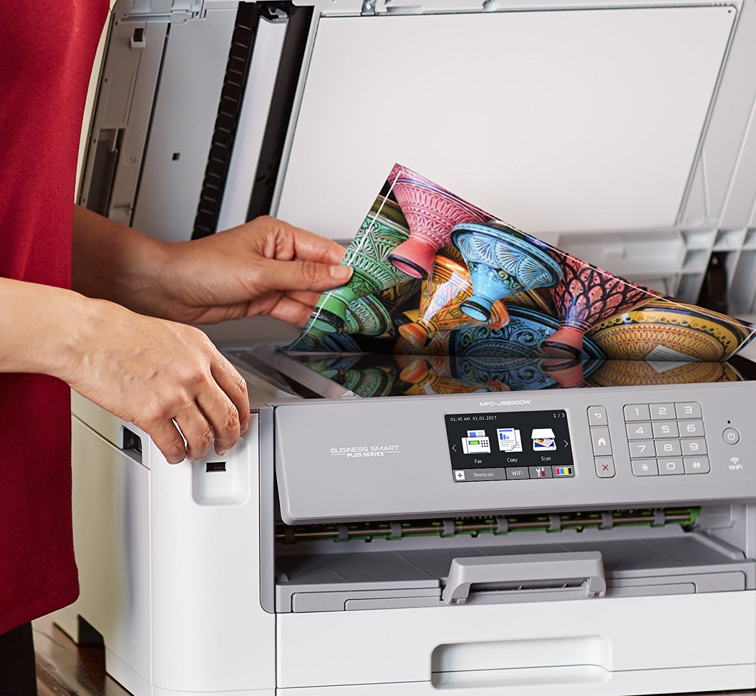 brother mfcj6535dw inkjet all in one color printer with