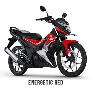 Pilihan Warna Baru Sonic 150R 2017 Energetic Red Naga Mas Motor Klaten