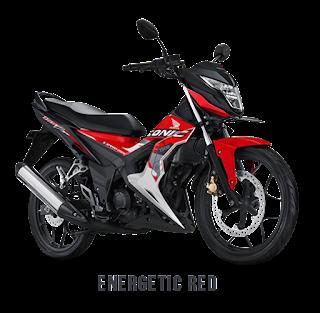 Pilihan Warna Baru Sonic 150R 2017 Energetic Red Dealer Honda Sejahtera Mulia Motor Cirebon