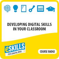 Developing digital skills course badge