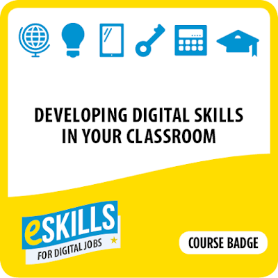Developing digital skills course badge