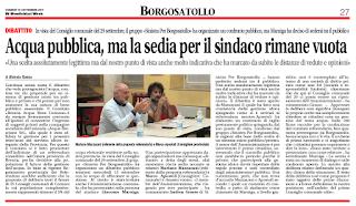 Acqua Pubblica a Borgosatollo. Andrea Grasso: «Andiamo al referendum»