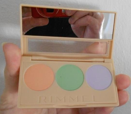 opened #insta conceal & correct palette