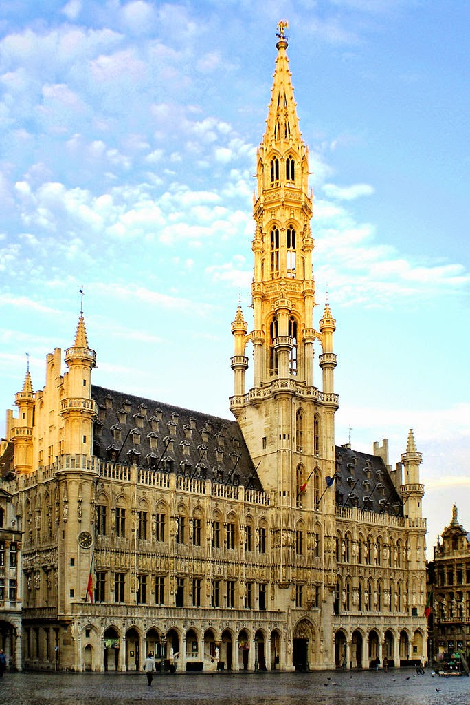 10 Best Places to Holiday in Belgium (100+ Photos) | The Town Hall of the City of Brussels municipality