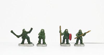 Slingers x 2 / Javelinmen x 2: