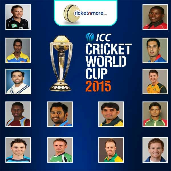 WORLD CRICKET TEAMS CAPTAINS