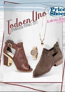Catalogo Price Shoes zapatos ( mexico) Pv 2017