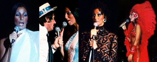 Cher during her 1977 Sonny & Cher Tour