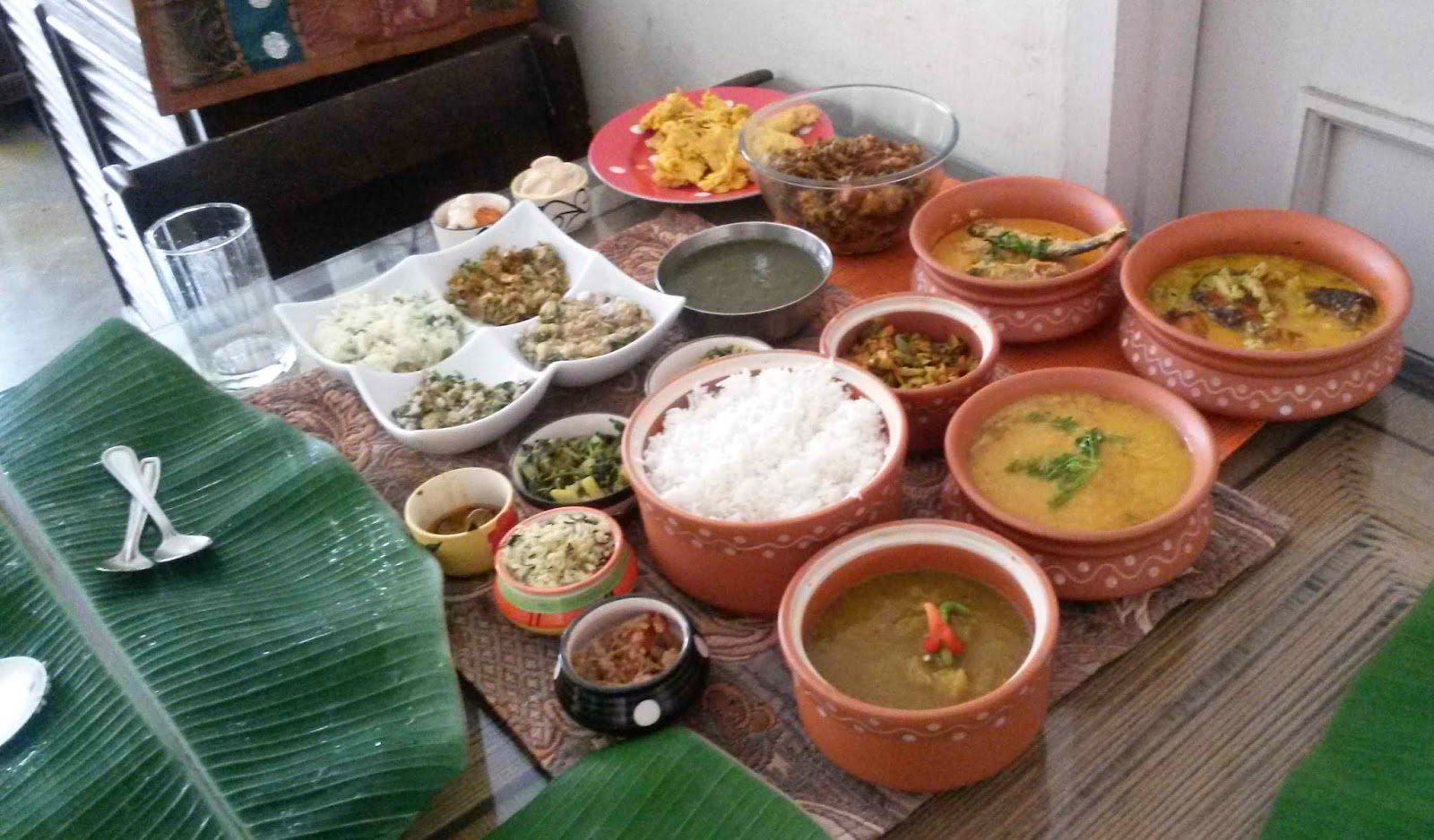 The Assamese Spread at Hyderabad Uruka