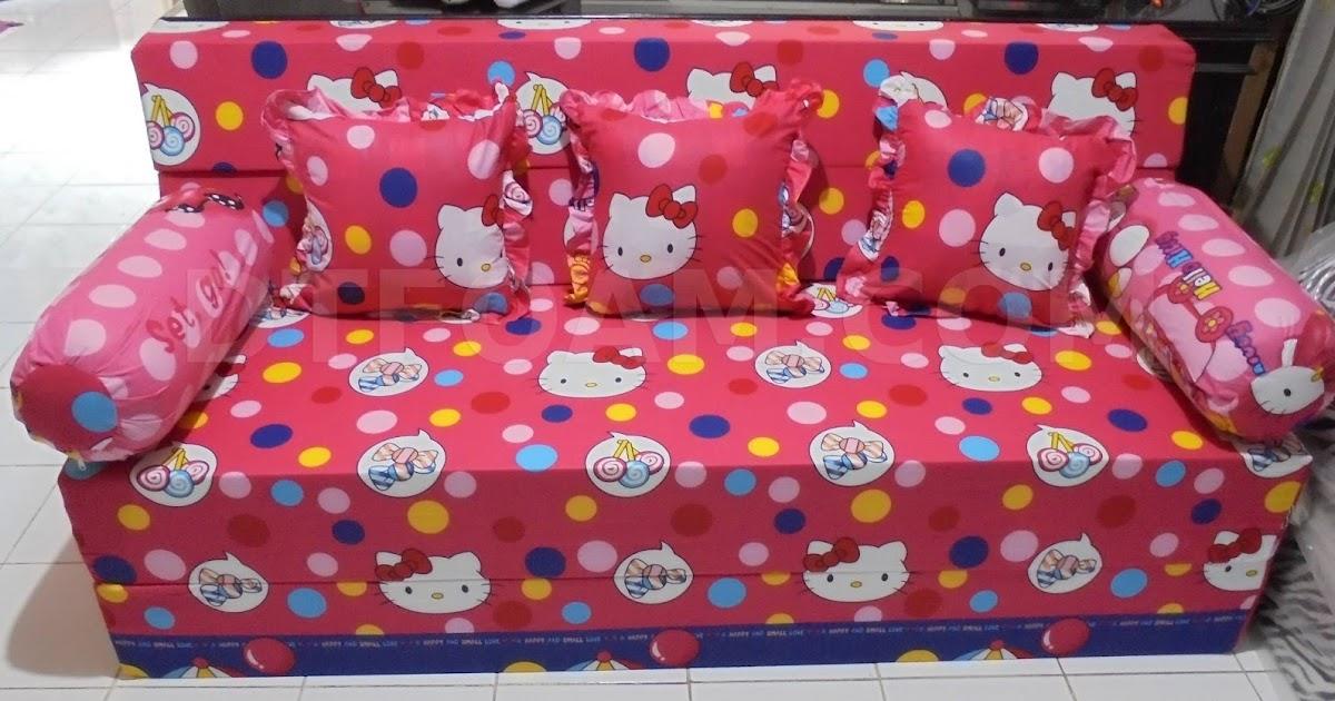Gambar Sofa Bed Inoac Hello Kitty Arsihome