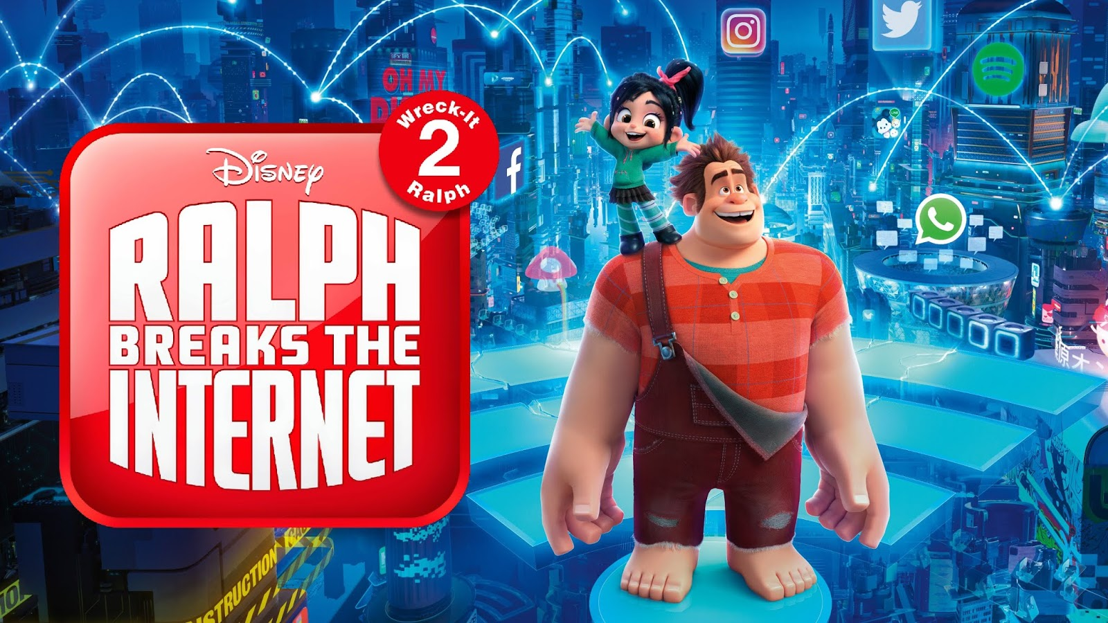 Ralph Breaks The Internet 2018 Review