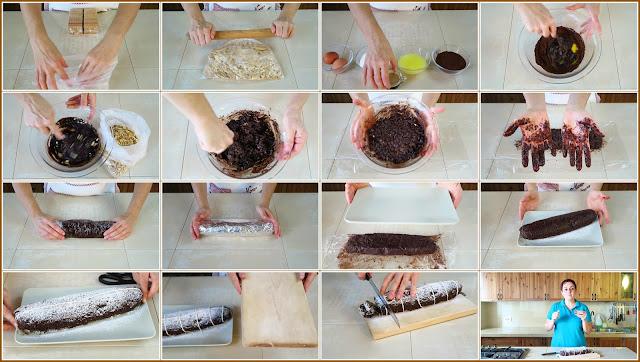 Salame Di Cioccolato Fatto In Casa Da Benedetta Fatto In Casa Da