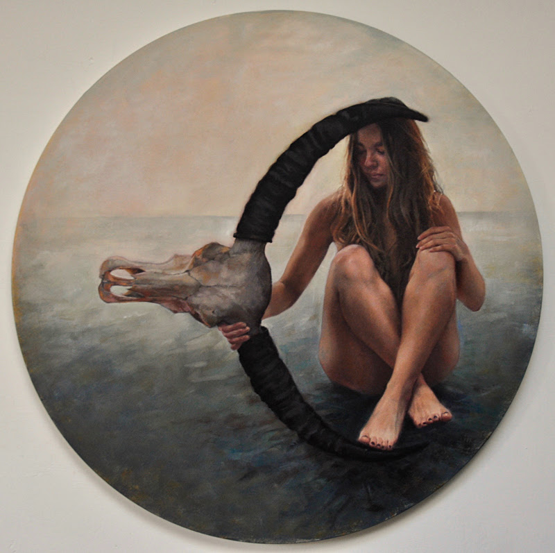 Paintings by Helen Masacz from London.