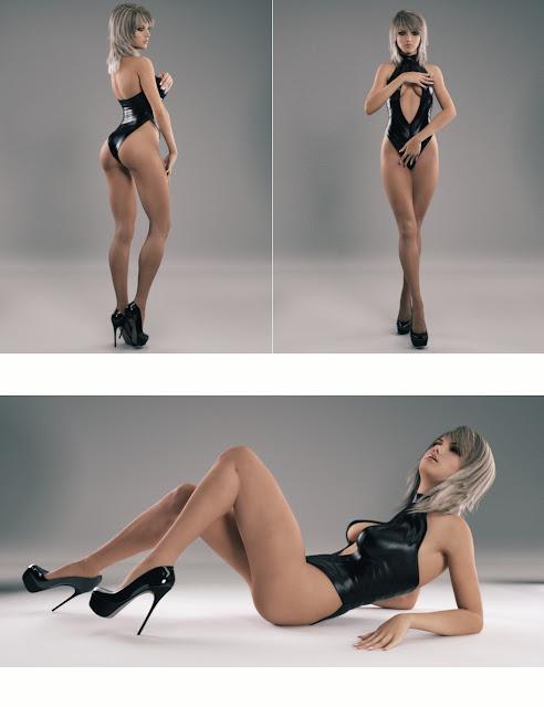 Temptation Poses for Genesis 3 Female