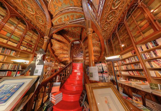 As livrarias mais deslumbrantes do mundo