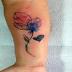 Tatuagens Aquarela para você se inspirar