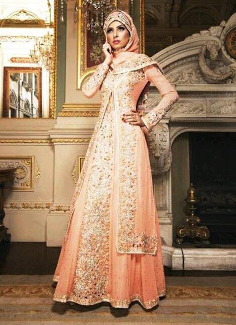Inspirasi Gaun Muslimah Cantik dan Trendy 2001608
