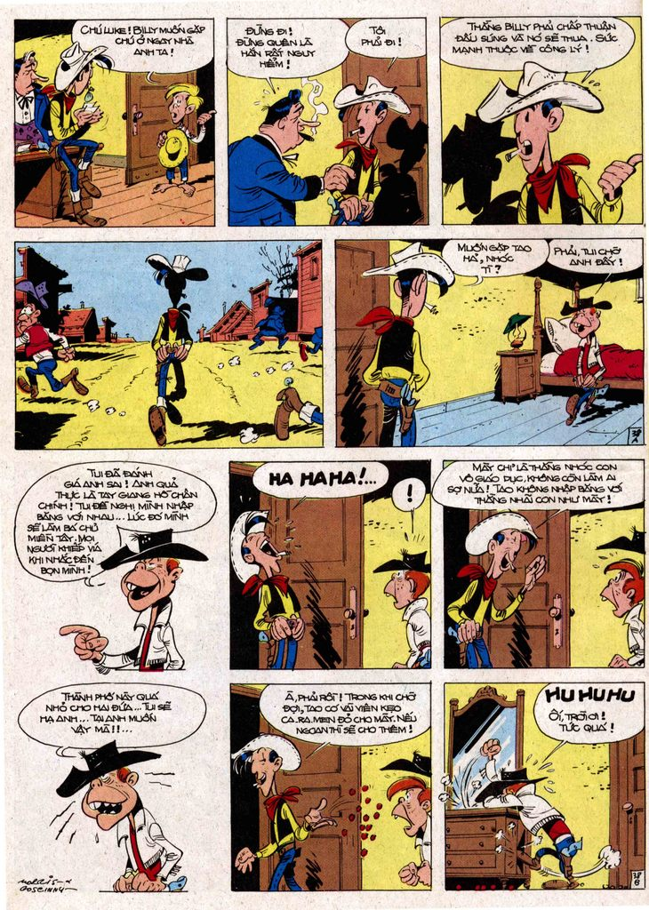 Lucky Luke tap 7 - ten billy the kid trang 38
