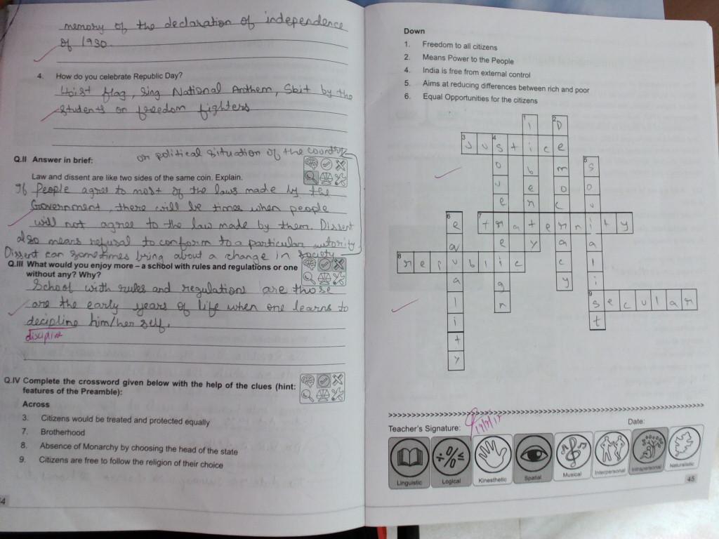 pis vadodara std 8 civics workbook ch 13