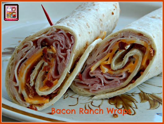Kandy's Kitchen Kreations: Bacon Ranch Wraps