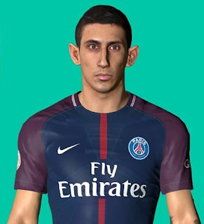 PES 2017 Faces Angel Di Maria by Ben Hussam FaceMaker