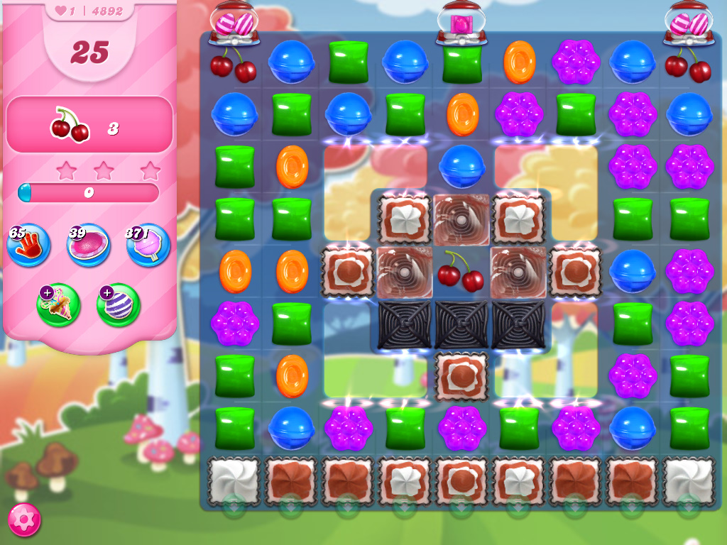 Candy Crush Saga level 4892