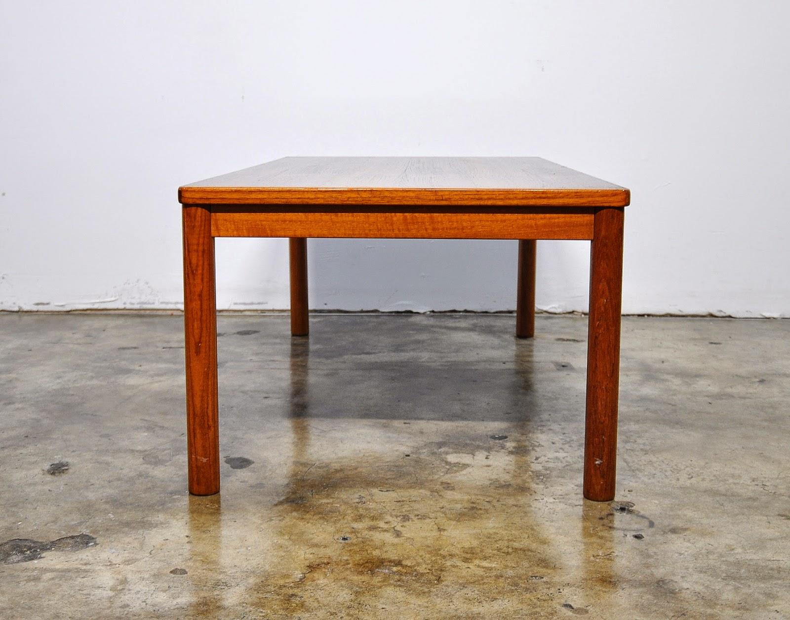 SELECT MODERN: Danish Modern Teak Coffee or Cocktail Table