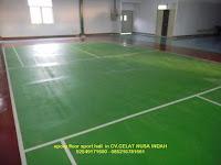 epoxy lapangan badminton