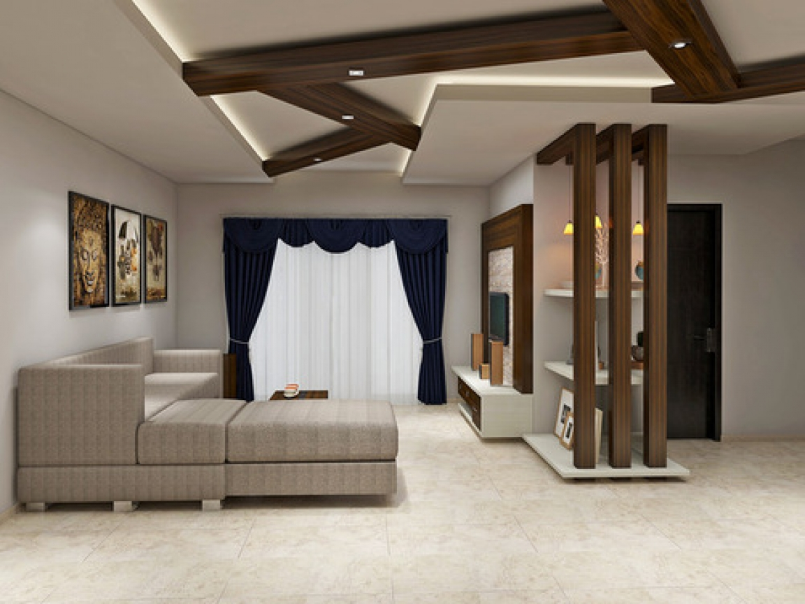 Best 70 modern living room interior designs pop false - Living room false ceiling designs ...