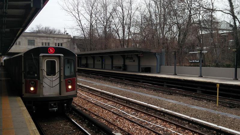 Tren de New York. Fotografía por Juan Carlos Morales S. Todos los derechos reservados.