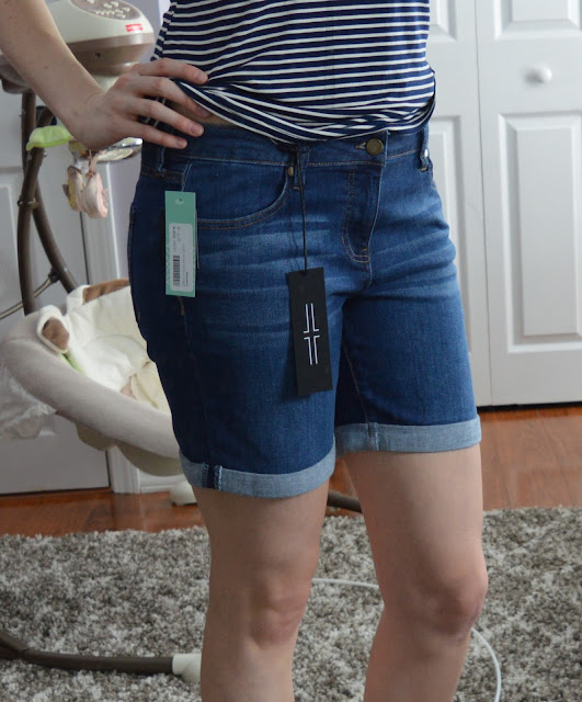 Liverpool Kaiden Cuffed Denim Short - Stitch Fix Review