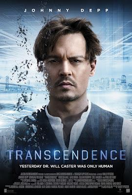 transcendencja film recenzja plakat johnny depp morgan freeman