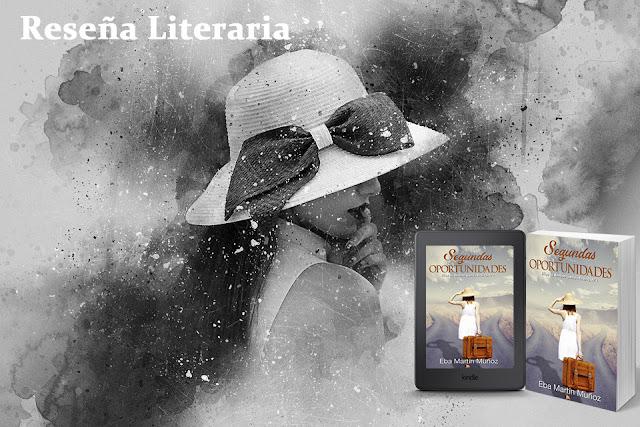 Reseña Segundas oportunidades de Eba Martín Muñoz. Blog Negro sobre Blanco. Composición imágen María Loreto Navarro