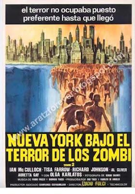 Nueva York bajo el terror de los zombi, Zombi 2, Lucio Fulci