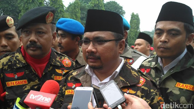 Gus Yaqut: GP Ansor Tidak Masalah dengan Kalimat Tauhid, Tetapi Atribut Anti-NKRI