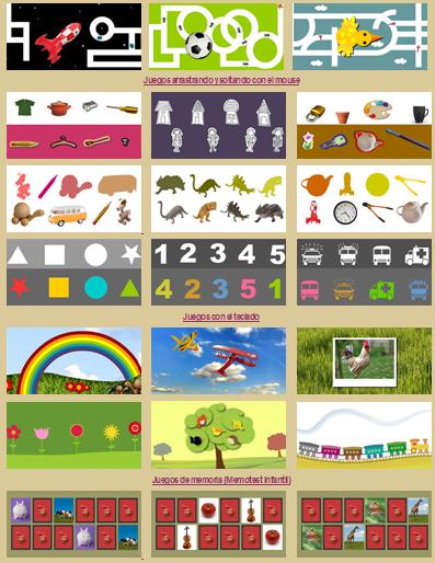 Actividades Para Educacion Infantil Manejando El Raton Con Muchos
