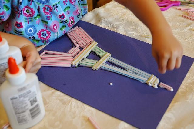 Eiffel Tower Craft for France Theme Preschool