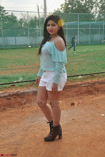Madhulagna Das looks super cute in White Shorts and Transparent Top 48.JPG