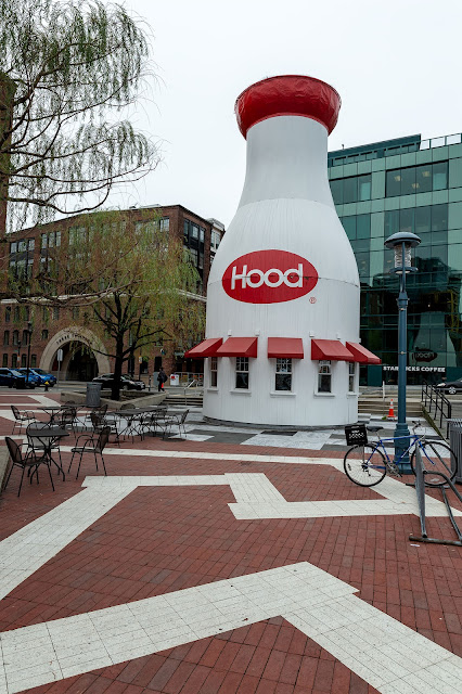 Hood Bottle in Boston
