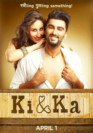 Poster of Ki and Ka Full Hindi Movie Download Hd