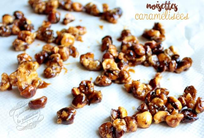 noisettes caramelisees