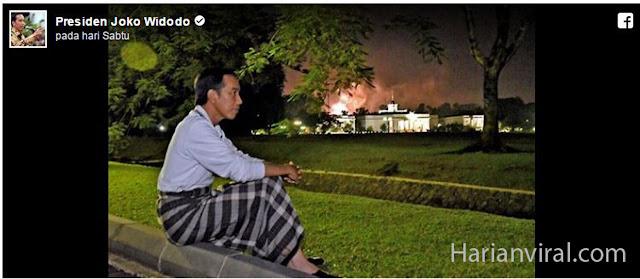 WOW, FOTO JOKOWI SAAT TAHUH BARU MENJADI VIRAL DI SOSIAL MEDIA