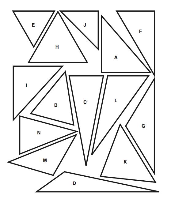 Number Names Worksheets  Triangle Worksheet - Free ...