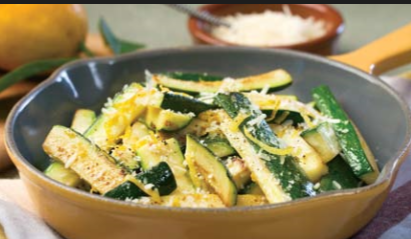 Zucchini Sauté: This vegetable side dish tastes lively and is fast to fix.