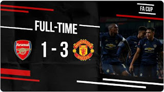 Arsenal vs Manchester United 1 - 3 Video Gol  Highlights