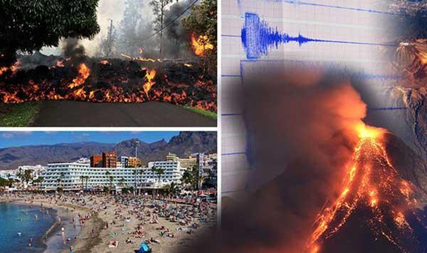 El Teide a punto de explotar, según la prensa británica
