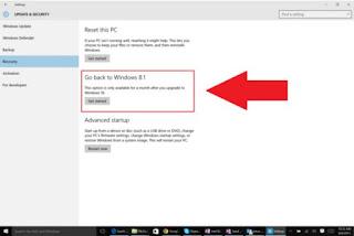 Tak Suka Windows 10, Ini Cara Mengembalikan ke Windows 7 Atau 8