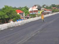 Senin Mendatang,Jembatan Tanggulangin III Sudah Dibuka Usai Loading Test